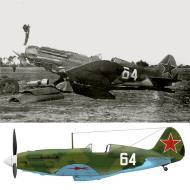 Asisbiz Mikoyan Gurevich MiG 3 11IAP White 64 damaged after it hit a vehicle on landing 12th Jun 1943 0A