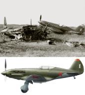 Asisbiz Mikoyan Gurevich MiG 3 124IAP 4Sqn White 1 at Vysoko Mazovetsk airfield Jun 1941 0A