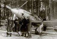 Asisbiz Mikoyan Gurevich MiG 3 124IAP Red 44 with Alexander G Pronin at Levashovo airfield 1941 02