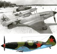 Asisbiz Mikoyan Gurevich MiG 3 12GvIAP Red 47 at Vnukovo Moscow 7th Mar 1942 0A