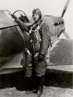 Asisbiz Mikoyan Gurevich MiG 3 12GvIAP Red 49 flown by Capt KA Kriukov at Vnukovo Moscow spring 1942 02