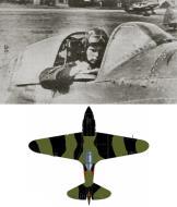 Asisbiz Mikoyan Gurevich MiG 3 12GvIAP Red 49 flown by Capt KA Kriukov at Vnukovo Moscow spring 1942 0B