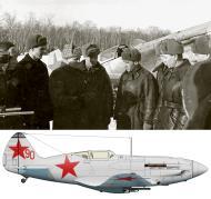Asisbiz Mikoyan Gurevich MiG 3 12GvIAP Red 90 at Vnukovo 1942 01