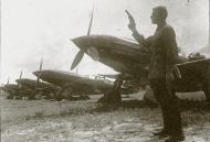 Asisbiz Mikoyan Gurevich MiG 3 12GvIAP about to get the go signal at Vnukovo summer 1942 01