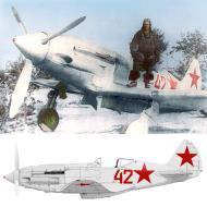 Asisbiz Mikoyan Gurevich MiG 3 12OIAE Red 42 Leningrad Front 1941 42 01