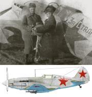 Asisbiz Mikoyan Gurevich MiG 3 148IAP For Stalin flown by pilot Maj Yakov Titayev battle for Kharkov 1942 01