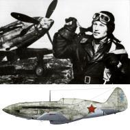 Asisbiz Mikoyan Gurevich MiG 3 16GvIAP Azure 5 with Lt Alexandre Pokryshkina Leningrad Front 1942 01
