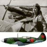 Asisbiz Mikoyan Gurevich MiG 3 16IAP PVO White 36 foreground ace Nikolai A Semyonov Moscow 1942 01