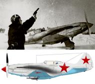 Asisbiz Mikoyan Gurevich MiG 3 16IAP PVO flown by IF Pigeon Moscow winter 1941 42 01