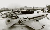 Asisbiz Mikoyan Gurevich MiG 3 172IAP at Moscow Khodinka 23rd Feb 1942 01