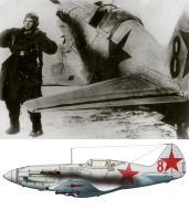 Asisbiz Mikoyan Gurevich MiG 3 27IAP Red 8 Vasily Nikolaevich Matakov Moscow 1941 0A