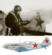 Asisbiz Mikoyan Gurevich MiG 3 28IAP unit no 22 with Lt AY Fedorov based Moscow summer 1941 42 01