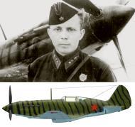 Asisbiz Mikoyan Gurevich MiG 3 34IAP of 6IAK PVO with Lt SD Baikov based Moscow summer 1941 01