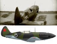 Asisbiz Mikoyan Gurevich MiG 3 401IAP White 15 flown by KK Kokkinaki acting Cmdr 1941 01