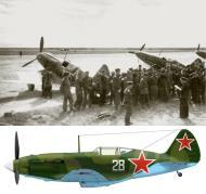 Asisbiz Mikoyan Gurevich MiG 3 7IAP Black Sea Fleet White 28 Kuban area 1943 01