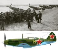 Asisbiz Mikoyan Gurevich MiG 3 7IAP Black Sea Fleet Yellow 21 Kuban area 1943 02
