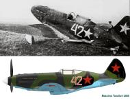 Asisbiz Mikoyan Gurevich MiG 3 7IAP White 42 Leningrad area Oct 1941 01
