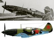 Asisbiz Mikoyan Gurevich MiG 3 8IAP VVS Chf Black Sea White 5 1942 0A