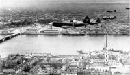 Asisbiz Mikoyan Gurevich MiG 3 over the Peter and Paul Fortress in Leningrad autumn 1941 01