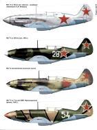 Asisbiz Mikoyan Gurevich MiG 3 profiles from Russian aviation magazine 0A