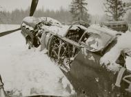 Asisbiz Mikoyan Gurevich MiG 3 unknown IAP White 14 abandoned 1942 02