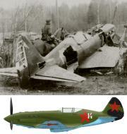 Asisbiz Mikoyan Gurevich MiG 3 unknown IAP White 14 abandoned 1942 03