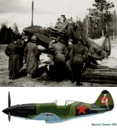 Asisbiz Mikoyan Gurevich MiG 3 unknown IAP White 4 abandoned 1942 0A