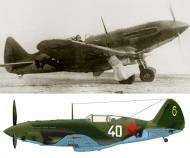 Asisbiz Mikoyan Gurevich MiG 3 unknown IAP White 40 Yellow 6 0A