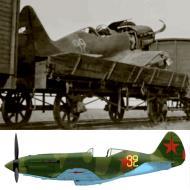 Asisbiz Mikoyan Gurevich MiG 3 unknown unit Yellow 32 captured Barbarossa 1941 0A
