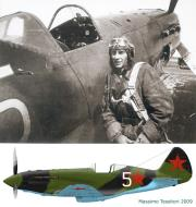 Asisbiz Mikoyan Gurevich MiG 3 unknown unit no White 5 1941 01