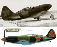 Asisbiz Mikoyan Gurevich MiG 3 with the slogan Smert Nemetskim Okkupantam or Death to the German Occupants 0A