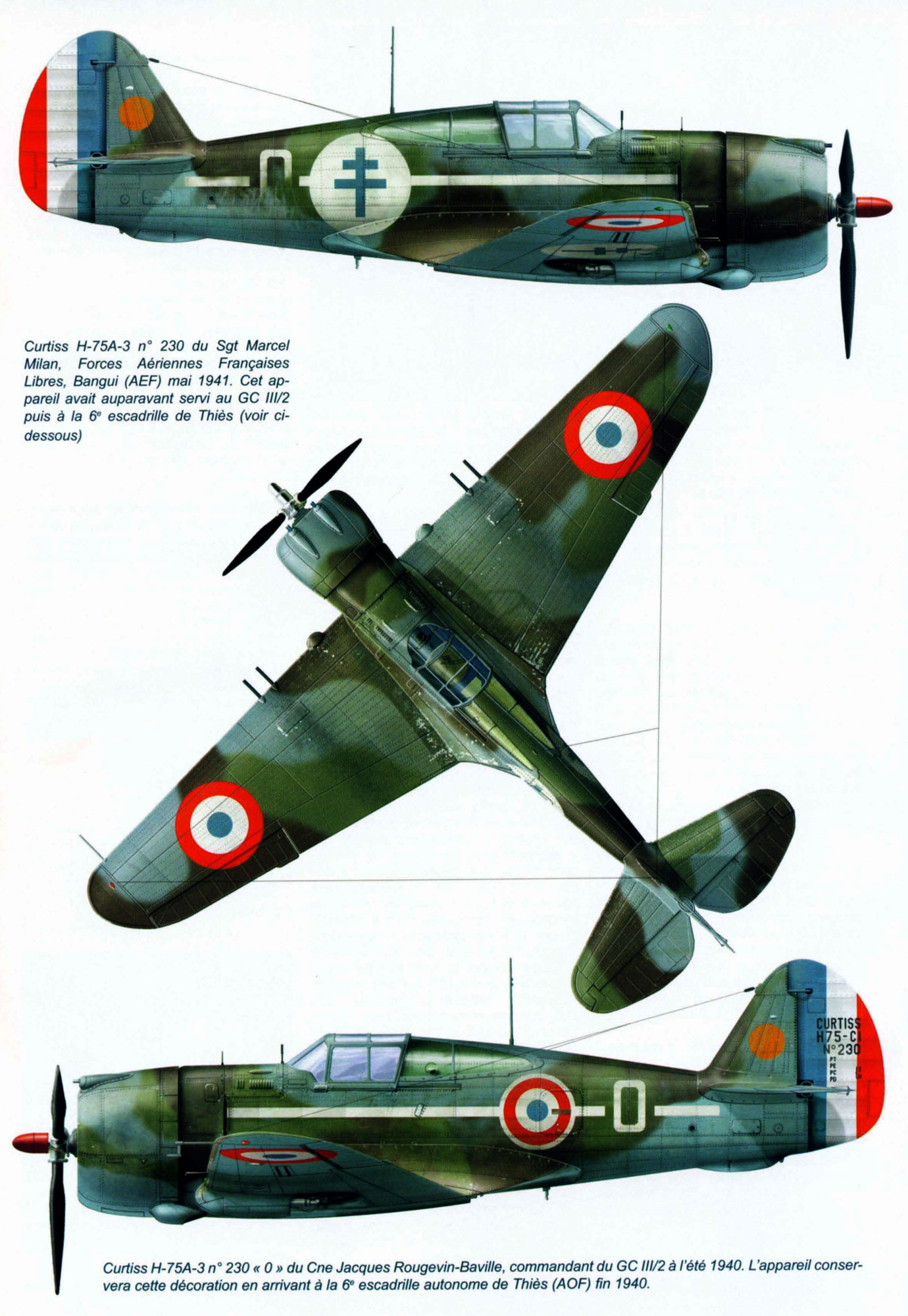 curtiss - AZ 1/72 ...  H-75c1 de chez CURTISS - avion FAFL de MILAN... Curtiss-Hawk-H-75A3-French-Airforce-GCIII.2-No230-Jacques-Rougevin-Baville-France-1940-0A