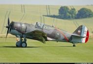 Asisbiz Curtiss Hawk H 75A1 FAF GC2 5 X881 France 1939 10 Duxford Warbird