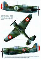 Asisbiz Curtiss Hawk H 75A3 French Airforce GCIII.2 No230 Jacques Rougevin Baville France 1940 0A