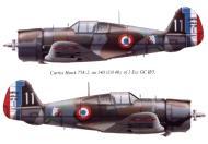 Asisbiz Curtiss Hawk H 75C French Airforce GCII.5 No140 White 11 U070 Charters France 1940 0A