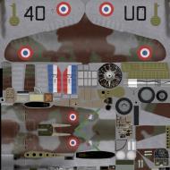 Asisbiz IL2 HM Hawk 75A 3 FAF GCII.5 W11 Duda France 1940