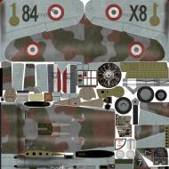Asisbiz IL2 IM Hawk 75A 3 FAF GCI.4 Joannes Cucumel W7 France 1940