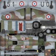 Asisbiz IL2 TA Hawk 75A3 GCI.5 No151 U051 Jean Mary Accart Pontarlier 1940 A