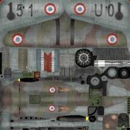 Asisbiz IL2 TA Hawk 75A3 GCI.5 No151 U051 Jean Mary Accart Pontarlier 1940 C