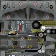 Asisbiz IL2 TP Hawk 75A3 GCII.4 No90 X889 France 1939