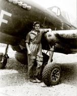 Asisbiz Curtiss P 40N Warhawk 8FG35FS Yellow F Bud Pool at Cape Gloucester New Britain Apr 1944 01