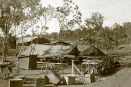 Asisbiz Port Morseby 14 mile makeshift workshop shared with RAAF 75Sqn and USAAF 8FG and 49FG 01