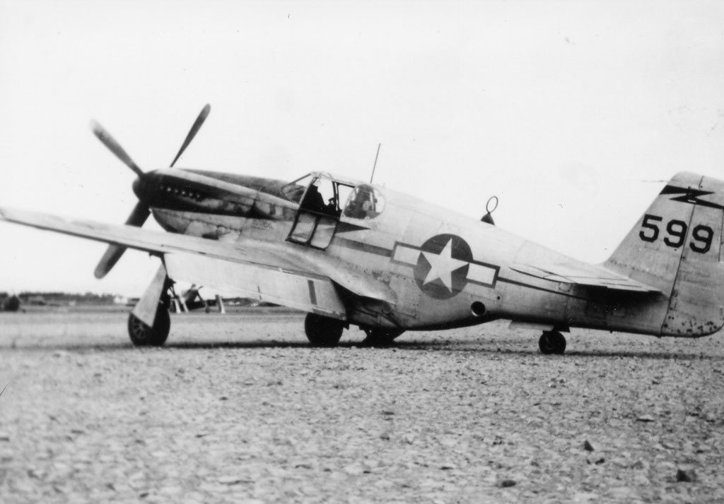 1 P 51C Mustang 14AF 23FG118TRS 599 Chengkung China 1944 02