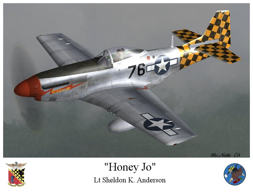 IL2 BN P 51D 15AF 325FG319FS 76 Sheldon Anderson Italy V0A