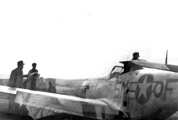 USAAF sn 44 14272 P 51D 10 Mustang 67TRG15RS 5M F crashed Rokycany area Apr 25 1945 02