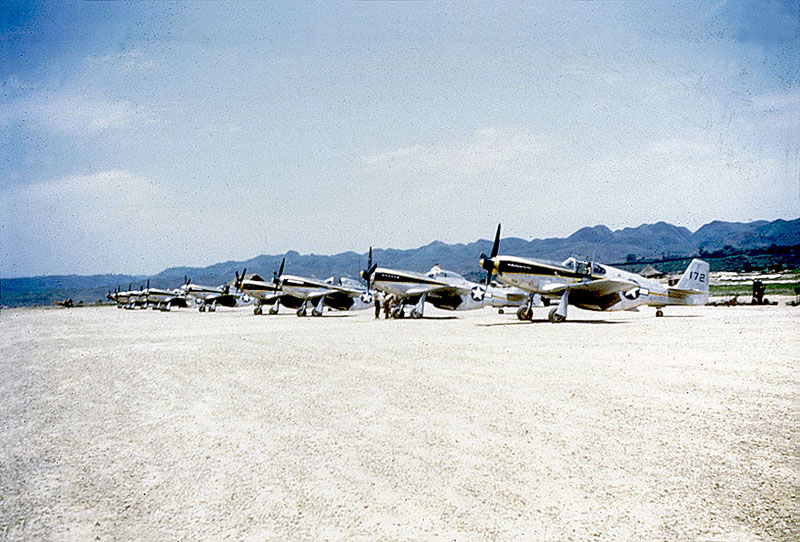 North American P 51 Mustangs 118th Tactical Recon Squadron 02