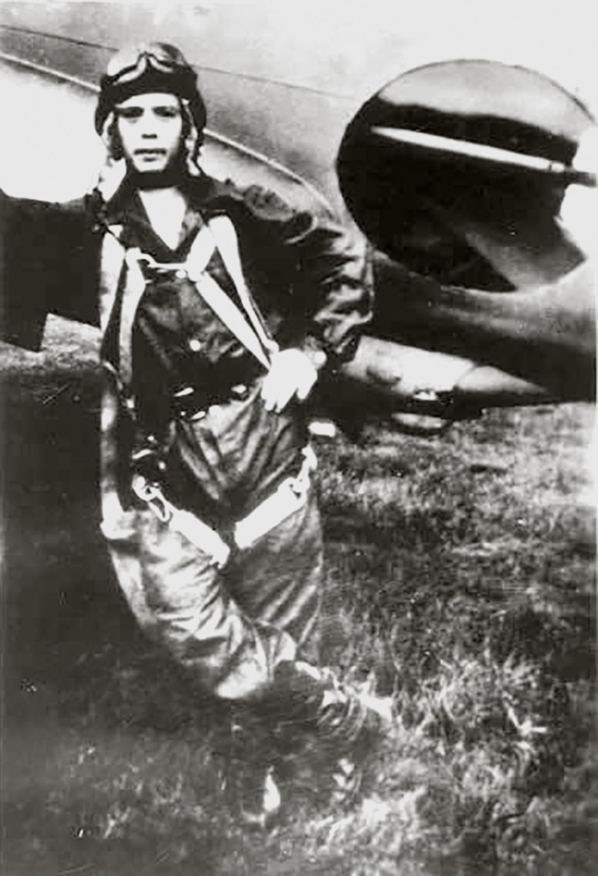Aircrew Soviet 540BAP with Lt Valko Pavel Ivanovich 01