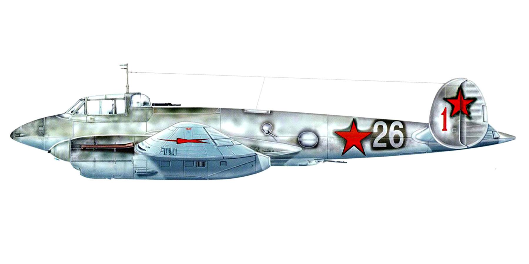 Petlyakov Pe 2 29BAR White 26 Kirkenes 1943 0A