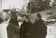 Asisbiz Aircrew Soviet 11ORAP Cmdr Lt P Shinkarev (center) 01