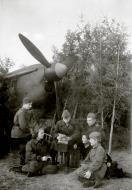 Asisbiz Aircrew Soviet 125GvBAP group photo with Ekaterina Fedotova and commrades 1943 01